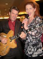 Musik-Duo Rot Gold mit Sängerin