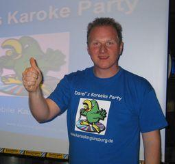 Daniels Karaoke Party