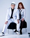Musik-Duo Rot Gold mit Sängerin foto 1