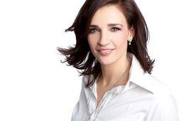Moderatorin Carmen Franke