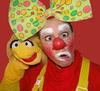 Clown Pirelli-Kindergeburtstag