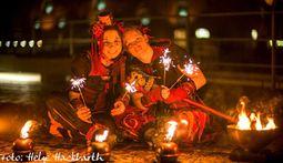 Duo Flammenspuk - Feuershow & Feuertheater
