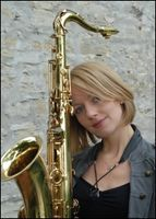 Lounge Jazz Duo Saxophonist in Sängerin Pianist