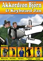 Akkordeon Björn und Keyboard Jan
